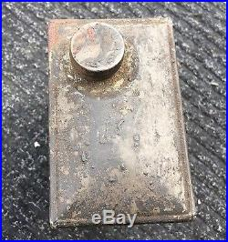 Economy Gas Engine Oil Can Hit Miss Old Farm Vintage Marine Antique Sears