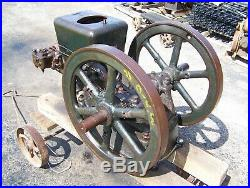 FAIRBANKS MORSE 3hp Z Early Ignitor Fired Hit Miss Gas Engine Steam Magneto WOW