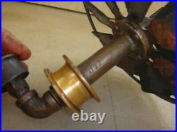 FAN ASSEMBLY for Small BLUFFTON or IDEAL Hit and Miss Old Gas Engine