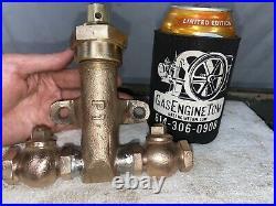 FUEL PUMP Part #P1 Brass Hit Miss Gas Engine Old