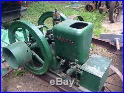 Fairbanks Morse Jack Jr 1hp Hit Miss Gasoline Engine With VIDEO