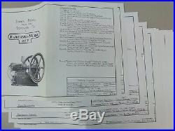 Fairbanks Morse Model N casting kit for hit and miss engine