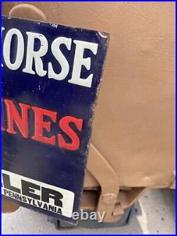 Fairbanks Morse Z Engines Embossed Tin Sign Hit and Miss Farm Pennsylvania