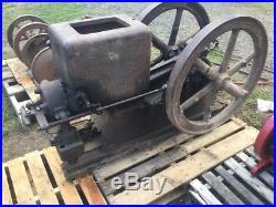 Fuller Johnson 7 HP K Kerosene Gas Hit Miss Gas Engine Rare Engine