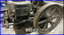 Fuller & Johnson Mfg. Co. Hit & Miss Engine antique NC 1 1/2 HP 500 RPM 91839