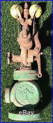 Gardner 1 1/2 Steam Engine Governor Quincy IL Antique Hit Miss Engine Tractor