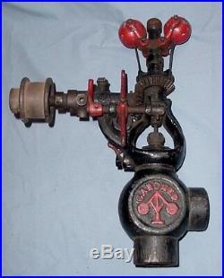 Gardner 1 inch Hit Miss Gas Steam Engine Governor Half Breed Bessemer