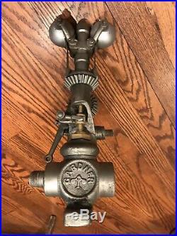 Gardner 3/4 Inch Hit Miss Gas Steam Engine Governor Half Breed Bessemer 1 Inch