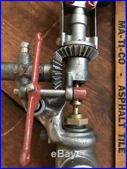 Gardner Hit Miss Gas Steam Engine Governor Half Breed Bessemer