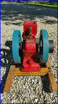 Gearless Deyo Gas Hit miss engine