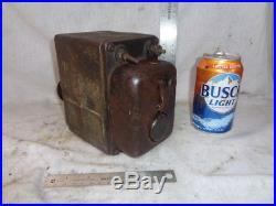 Generator / dynamo cast iron vintage auto, tractor, hit miss gas engine