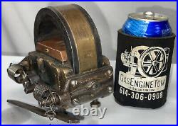 HOT WEBSTER Type K 26 Low Tension Brass Body Magneto Hit Miss Gas Engine Mag