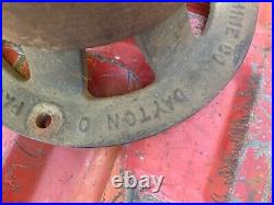 Hercules/economy hit and miss engine clutch pulley