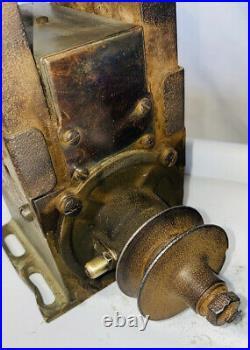 High Bar KW HS 4 Bar GENERATOR Tractor Auto Hit Miss Engine Antique Mag MM12