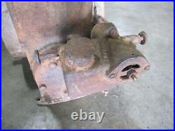 Hit And Miss Gas Engine JK Hercules Economy Kerosene Stationary Engine Wico Mag