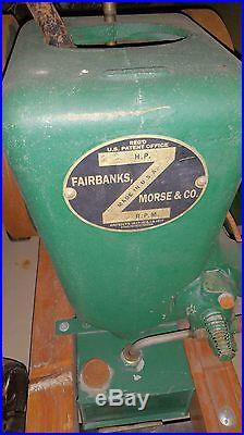 Hit & Miss Engine FAIRBANKS MORSE 1 1/2 HP Z Engine American History