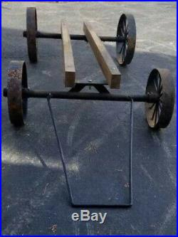 Hit & Miss Gas Engine Cart