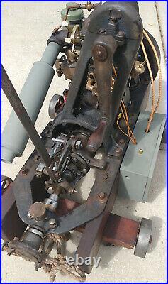 Hit Miss Marine Engine