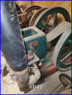 Hit miss engine 6 HP Headless Witti Has been restored and will run