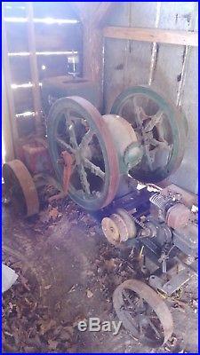 Hit miss engine 6 horse power
