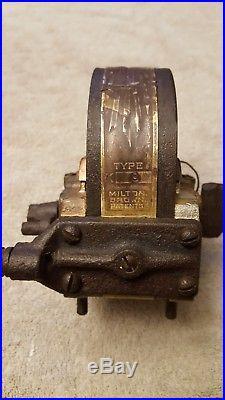Hit & miss engine Webster Tri polar Osculator