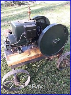 Hit or Miss Sattley 1.5 hp engine, runs