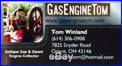 Hot PR Magneto Single Cylinder hit miss gas engine 2