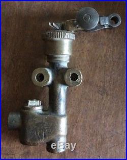 IHC Brass Antique Hit And Miss Gas Engine 2 1/2 HP Motor Fuel Pump International