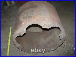 IHC FAMOUS TITAN 12 15 20hp Cast Iron Belt Pulley Hit Miss Gas Engine Magneto 24