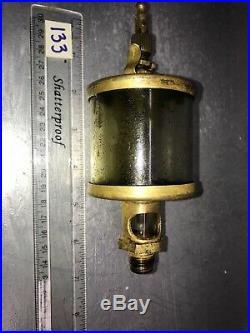 IHC International Harvester Brass Cylinder Oiler Hit Miss Gas Engine Antique