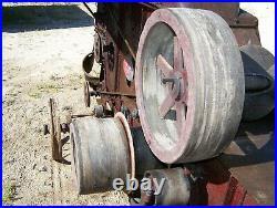 IHC McCORMICK DEERING No. 2 Corn Husker Shredder Hit Miss Engine Steam Tractor