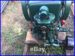 IHC McCormick Deering 1 1/2 HP Hit Miss Gas Engine Ignitor Rare BIG TAG