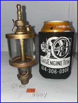 IHC Style #2 Brass Cylinder Oiler Hit Miss Gas Engine Antique Vintage Steampunk