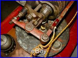 International 1 HP Tom Thumb Hit & Miss Gas Engine Original Paint ca. 1910