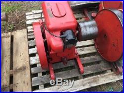 International Harvester IHC LA 1-1/2 to 2-1/2 HP Hit Miss Gas Flywheel Engine