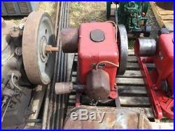 International Harvester IHC LB 3 5 HP Hit Miss Throttle Gas Flywheel Engine