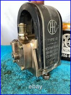 International Harvester Type R BRASS Magneto for IHC Hit Miss Gas Engine Mag R