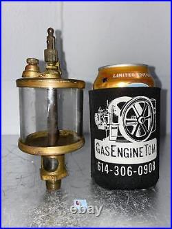 International IHC Brass Cylinder Oiler Hit Miss Gas Engine Antique Vintage