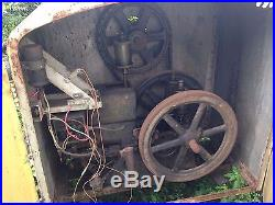 Jager hit and miss cement mixer with 3 1 5 hp motor hit for Cement mixer motor for sale