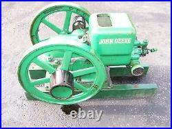 JOHN DEERE Type E 1 1/2hp Hit Miss Gas Engine Ignitor Steam Magneto Oiler Motor