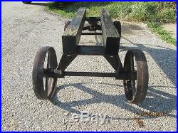 Jacob Haish Hit and Miss Engine Cart Sandwich Stationary 1.5 to 2 hp