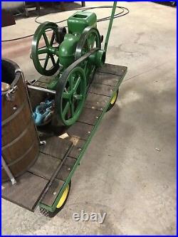 John Deere Country Freezer hit miss engine