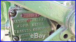 John Deere E 1-1/2 hp hit miss engine w