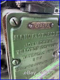 John Deere Hit And Miss Model E 3HP Stationary Engine
