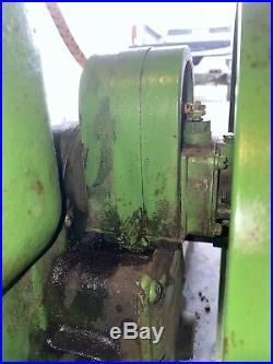 John Deere Hit And Miss Stationary Engine Model E 1 1/2 HP