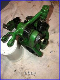 John Deere Hit Miss Gas Engine Head Assembly With Rocker Arm & Valves 1.5 hp