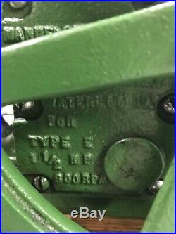 John Deere Salesman Model Hit And Miss Sample Engine