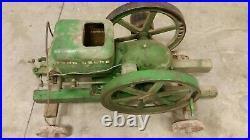 John Deere type E 3 hp hit miss engine with cart