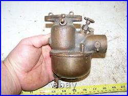 KINGSTON L3 Tractor Brass Carburetor Steam Hit Miss Engine Magneto Oiler NICE