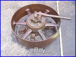 LAWSON LAWTON CHRISTIANSEN RENFREW CLUTCH Belt Pulley Hit Miss Gas Engine WOW